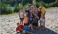jugendreise.de Beachvolleyballcamp Wittenberge Gruppenfoto