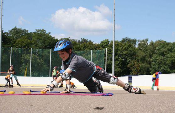 jugendreise.de Inlineskatecamp Jueterbog Skate-Training