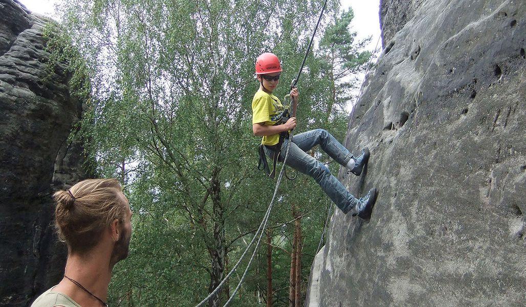 Klettersteig Ochelbaude : Klettersteig ochelwände ochelbaude