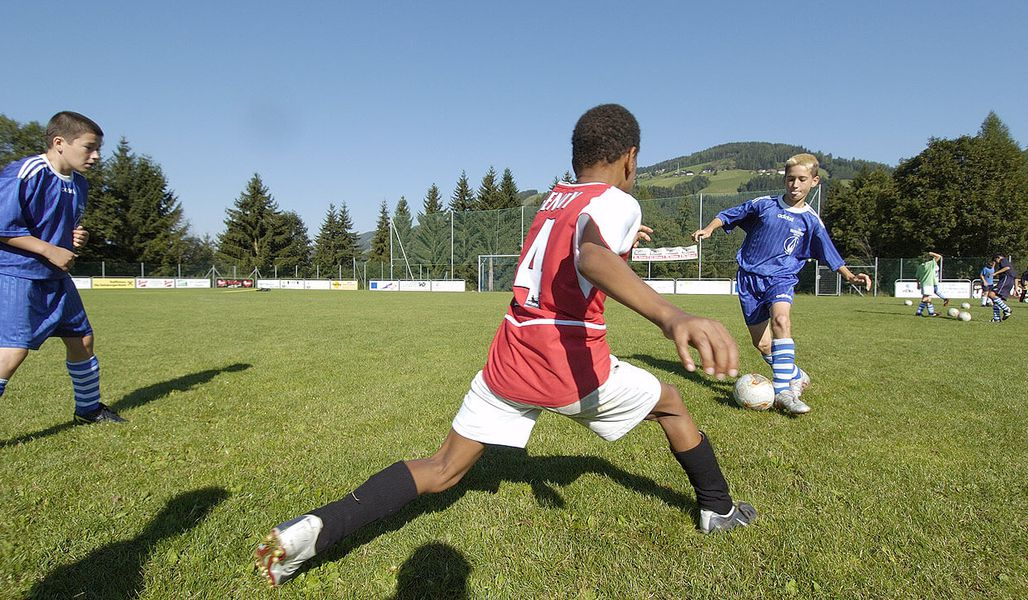 jugendreise.de Fussballcamp Wagrain Trainingseinheit