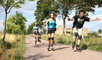 jugendreise.de Inlineskatecamp Jueterbog Skaten auf Rundweg