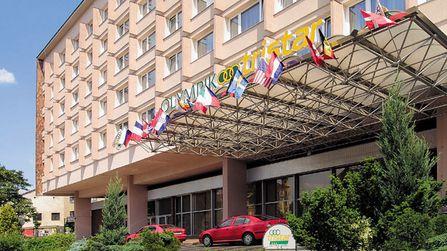 jugendreise.de Klassenfahrt Prag Hotel Olympik Tristar Außenansicht