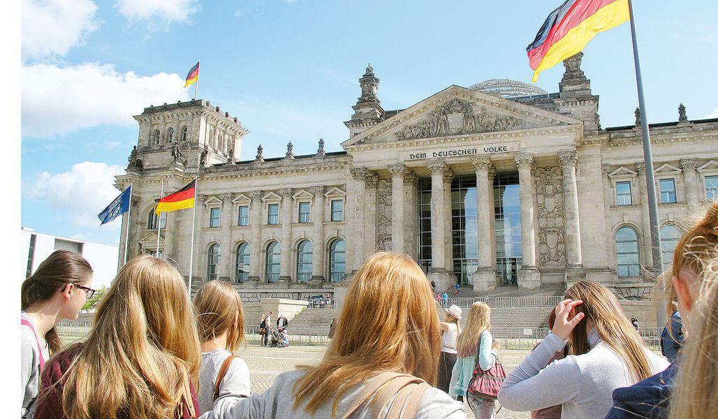 jugendreise.de Klassenfahrt Berlin Reichstag