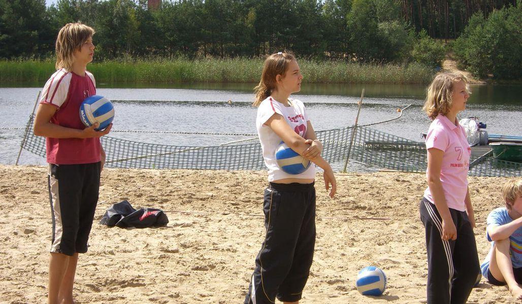 jugendreise.de Beachvolleyballcamp Wittenberge Training