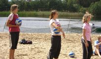 jugendreise.de Beachvolleyballcamp Wittenberge Training