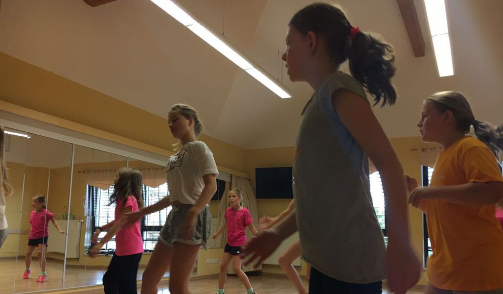 jugendreise.de Dance-Camp Naumburg Training